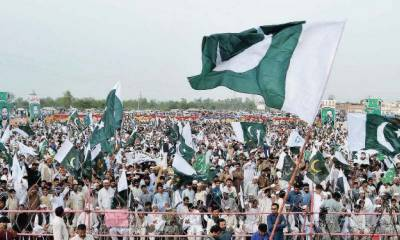 Pakistan Zindabad Movement huge rally held in favour of Pakistan Army