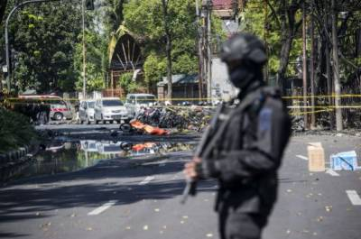 Two Female suicide bombers blow up in Indonesian Churches