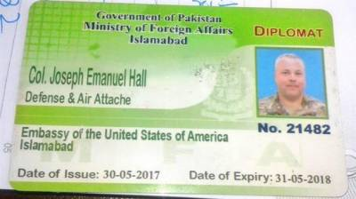 US diplomat involved in fatal traffic accident barred from leaving Pakistan