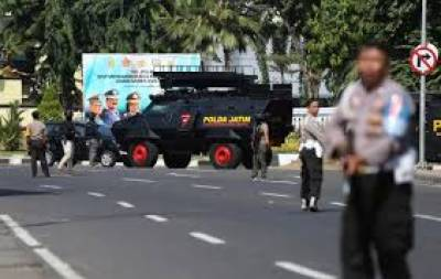 Four suicide bombers play havoc in Indonesian Police Headquarters attack