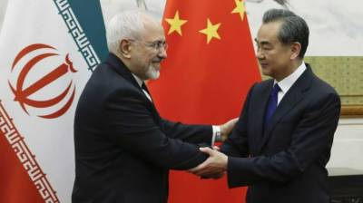 Iran's FM holds talks with Chinese counterpart
