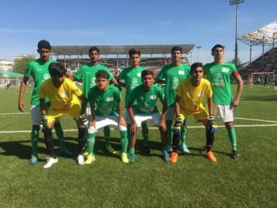 Pakistan young squad makes historic record in street child World Cup 2018 in Russia