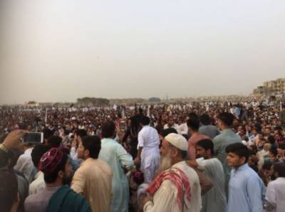 PTM organizes large gathering in Karachi