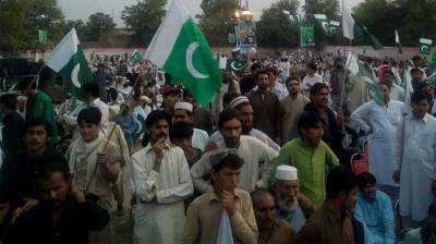 Rally held in Sadda, Kurram to express solidarity with security forces