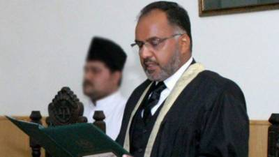 Fire breaks out in office of IHC Justice Shaukat Aziz Siddiqui