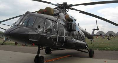 Military Helicopter crashes in Muktinath