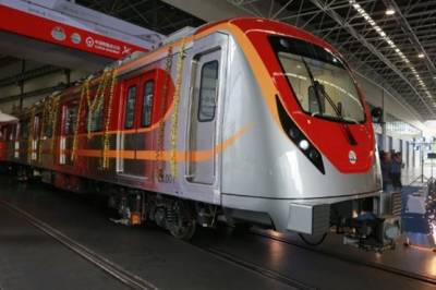Orange Line Metro Train project inaugurated by CM Shahbaz Sharif