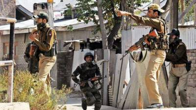 Police station attacked in Occupied Kashmir