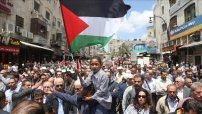 Arab-Israelis stage strike in mourning of martyred Palestinians