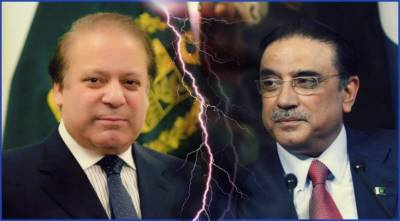 Asif Zardari hits out hard at Nawaz Sharif