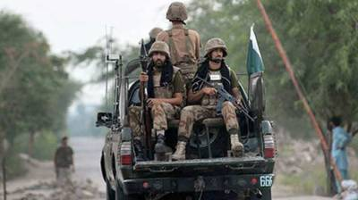 Security forces gun down three terrorists in Balochistan