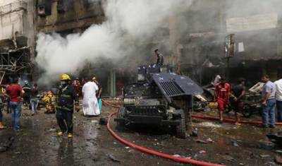 Several killed, wounded in suicide bombing north of Baghdad
