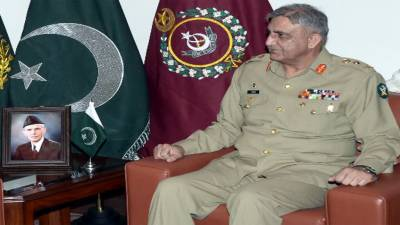 Top Chinese General meets COAS General Bajwa in GHQ