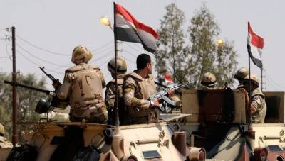 Egypt's military kills 19, arrests 20 in Sinai operation