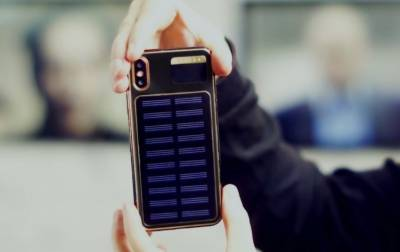 iPhone X Tesla with solar panel: Check out the price