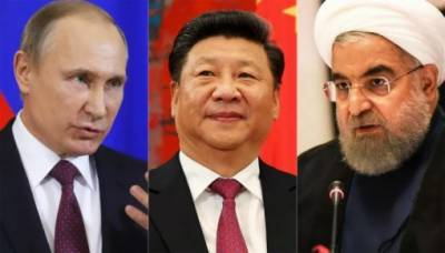 Russia China jumps in to rescue Iran after US sanctions
