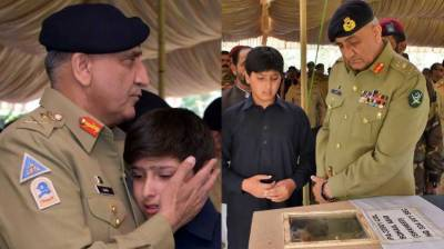 Shaheed Colonel Sohail Abid laid to rest with full military honour