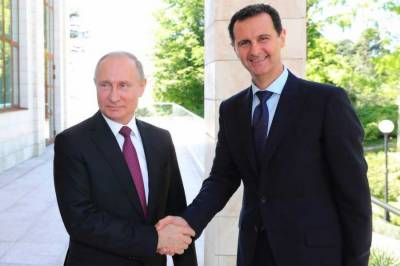 Syrian President holds meeting with Russian President