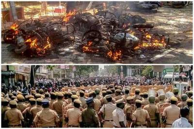 9 killed in Indian police firing during anti-Sterlite protest in Tamil Nadu