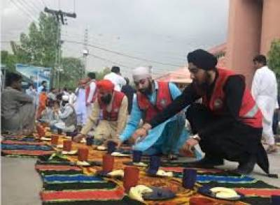 Inter-faith harmony: Sikhs treat Muslims to iftar in Peshawar
