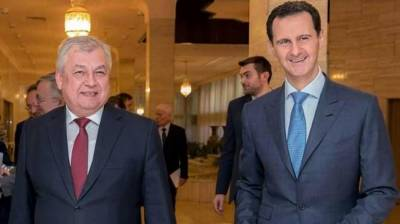 Assad meets Russia envoy, hails 'partners in victories'