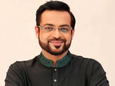 Dr Amir Liaqat quits live TV show protesting blasphemy by other scholar
