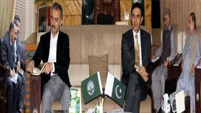 Forest Wildlife & Environment Department meeting held in Gilgit