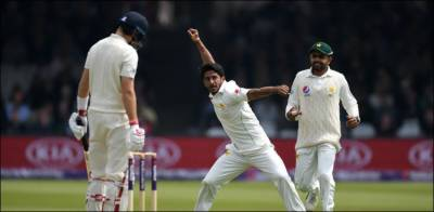 Hasan Ali strikes for Pakistan against England