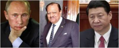 Pakistan President Mamnoon Hussain defeats his Chinese, Russian counterparts