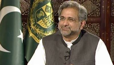 PM Shahid Khaqan responds to the news of alleged Chinese involvement on Hafiz Saeed issue