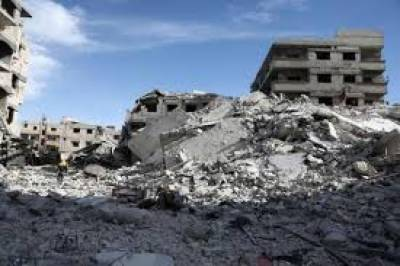 12 dead in strike on Syria forces, US denies coalition role