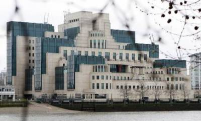 Britain's top intelligence MI6 makes history