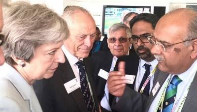 British PM Theresa May impressed by Pakistan cricket team performance at Lords