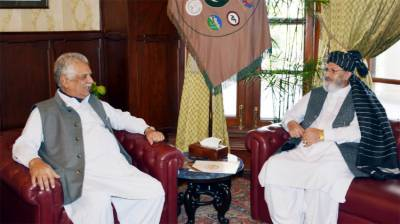 KP Governor, Afghan Counsel General discuss bilateral ties