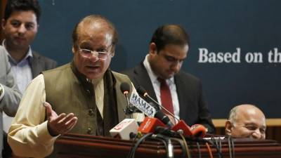 Nawaz Sharif responds harshly to the India Pakistan spy chiefs joint venture book