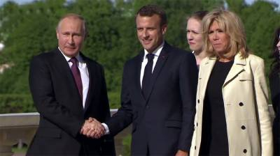 Putin, Macron discuss Iran nuclear deal