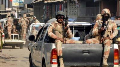 Rangers arrest 7 accused in Karachi