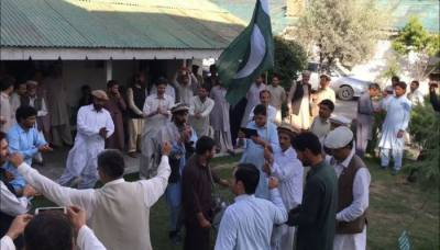 Tribals celebrate merger of FATA with KP