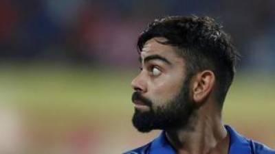 Virat Kohli faces a setback