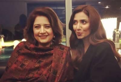 Mahira Khan - Atiqa Odho up for new joint Project