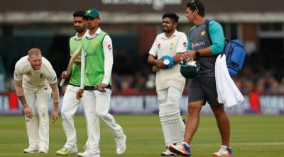 Pakistan's Babar out of England series with wrist inury
