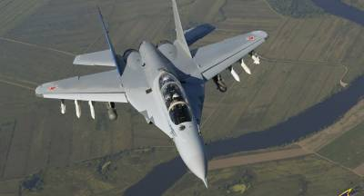 Russia unveils next generation MiG - 35 fighter Jet