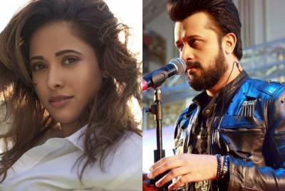 Who is this lady in Atif Aslam's new venture?