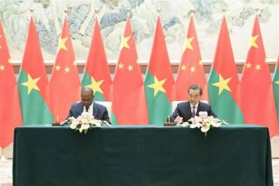 China, Burkina Faso establish diplomatic ties after Taiwan ditched