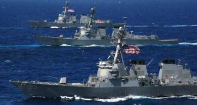 US Navy warships poke China in South China Sea