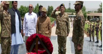 CM Shahbaz Sharif arrives in North Waziristan to express solidarity with Pakistan Army