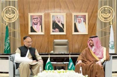 Pakistan Saudi Arabia vow to enhance bilateral ties