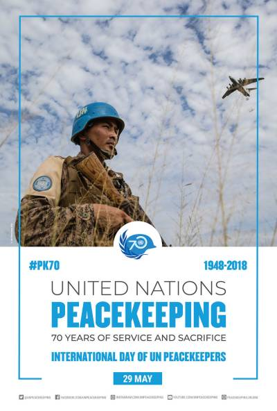 UN Peacekeepers Day being observed today