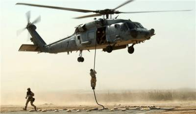 US Military helicopters spotted uplifting Daesh terrorists to undisclosed locations: Arab media