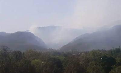 Margalla Hills fire: Army helicopters called in